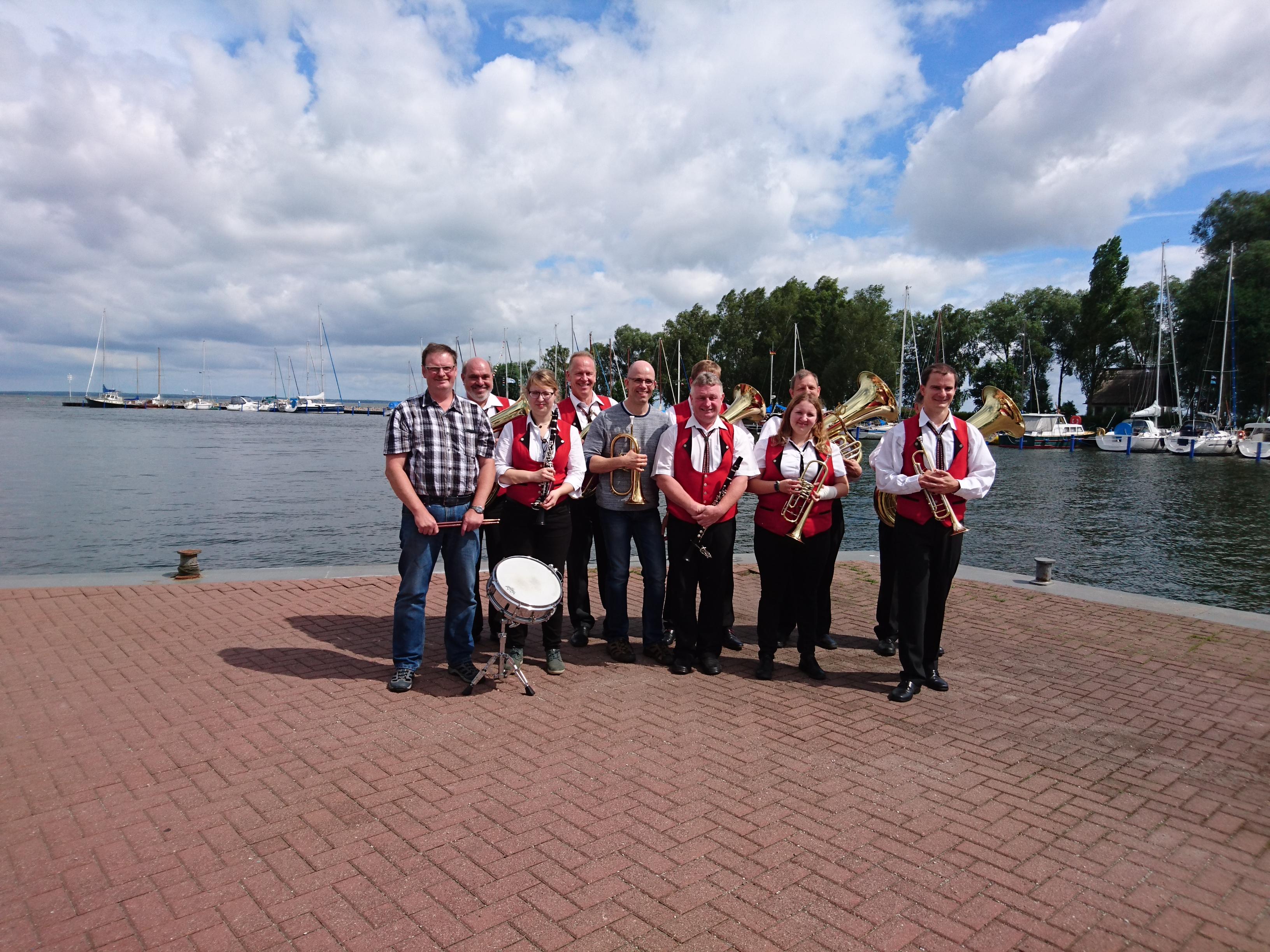 Die Eichsfeldmusikanten am Stettiner Haff in Mönkebude